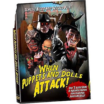 When Puppets & Dolls Attack [DVD] USA import