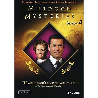 Murdoch Mysteries: Seizoen 4 [DVD] USA import