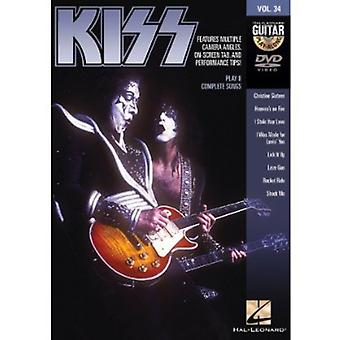Vol. 34-Kiss [DVD] USA import