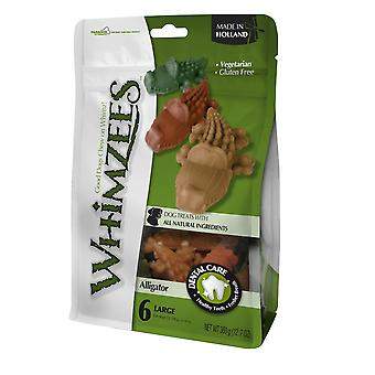 Whimzees Alligator Pre Pack Dog Chew