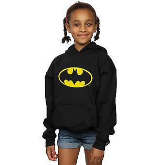 DC Comics девочек Бэтмен логотип капюшоном