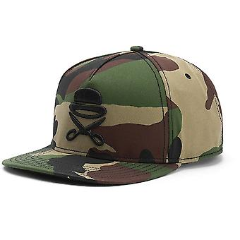 Cayler & sons Snapback Cap - icon woodland camo / black