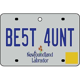 NEWFOUNDLAND og LABRADOR - bedste tante licens plade bil luftfriskere