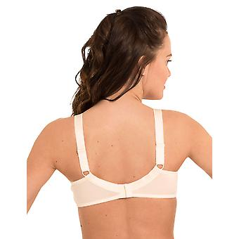 LingaDore 1343-4 Mulheres's Lisette Ivory Off White Non-Padded Full Cup Bra
