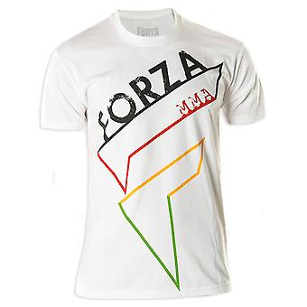 "Forza sport ""Pictogram"" MMA T-Shirt-White"