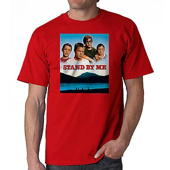 Stand By Me Poster Men's Red T-shirt