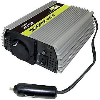 العاكس proUser INV150N 150 W 12 فولت تيار مستمر-230 V AC، 5 فولت تيار مستمر