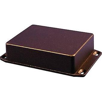 L'enceinte universelle 1590BX2FLBK Hammond Electronics 254 x 70 x 34,5 Aluminium noir (RAL 9005) 1 PC (s)