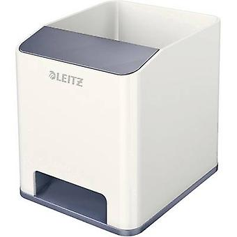 Leitz Sound WOW Duo kleur 5363-10-01 tidy wit, grijs Nee. aantal compartimenten: 2