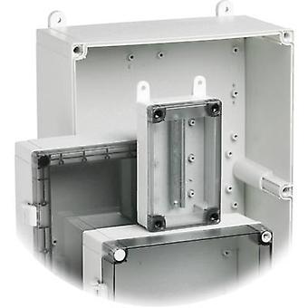 Placa de cobertura 10674 de FP FIBOX 5510674 para montagem (2 unid.) ABS cinza compatível com (detalhes) mestre de cartão todos
