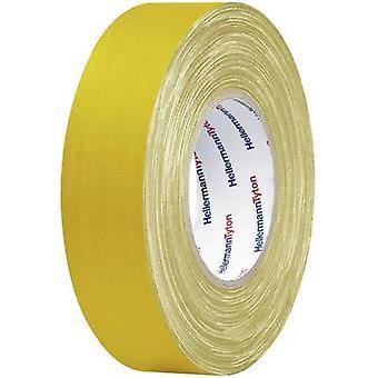 HellermannTyton HTAPE-TEX-YE-19X10 712-00202 Klud tape HelaTape Tex Yellow (L x W) 10 m x 19 mm 10 m
