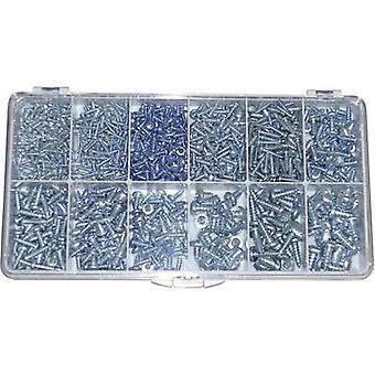 TOOLCRAFT DIN 7981 - STZN Countersunk sheet metal screw 730 Parts