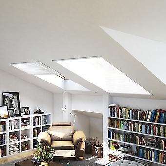 Protection de fenêtre-insecte maille moustique protection toiture 110 x 160 cm en blanc de voler