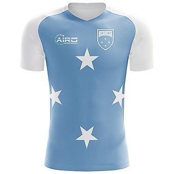 2020-2021 Micronesia Home Concept Football Shirt
