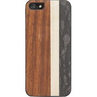 5 pack iFrogz - caisse en bois naturel pour Apple iPhone 5/5 s - Surf
