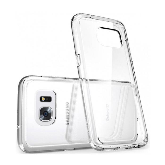 Stuff Certified® 2-Pack Transparent Clear Silicone Case Cover TPU Case Samsung Galaxy S6