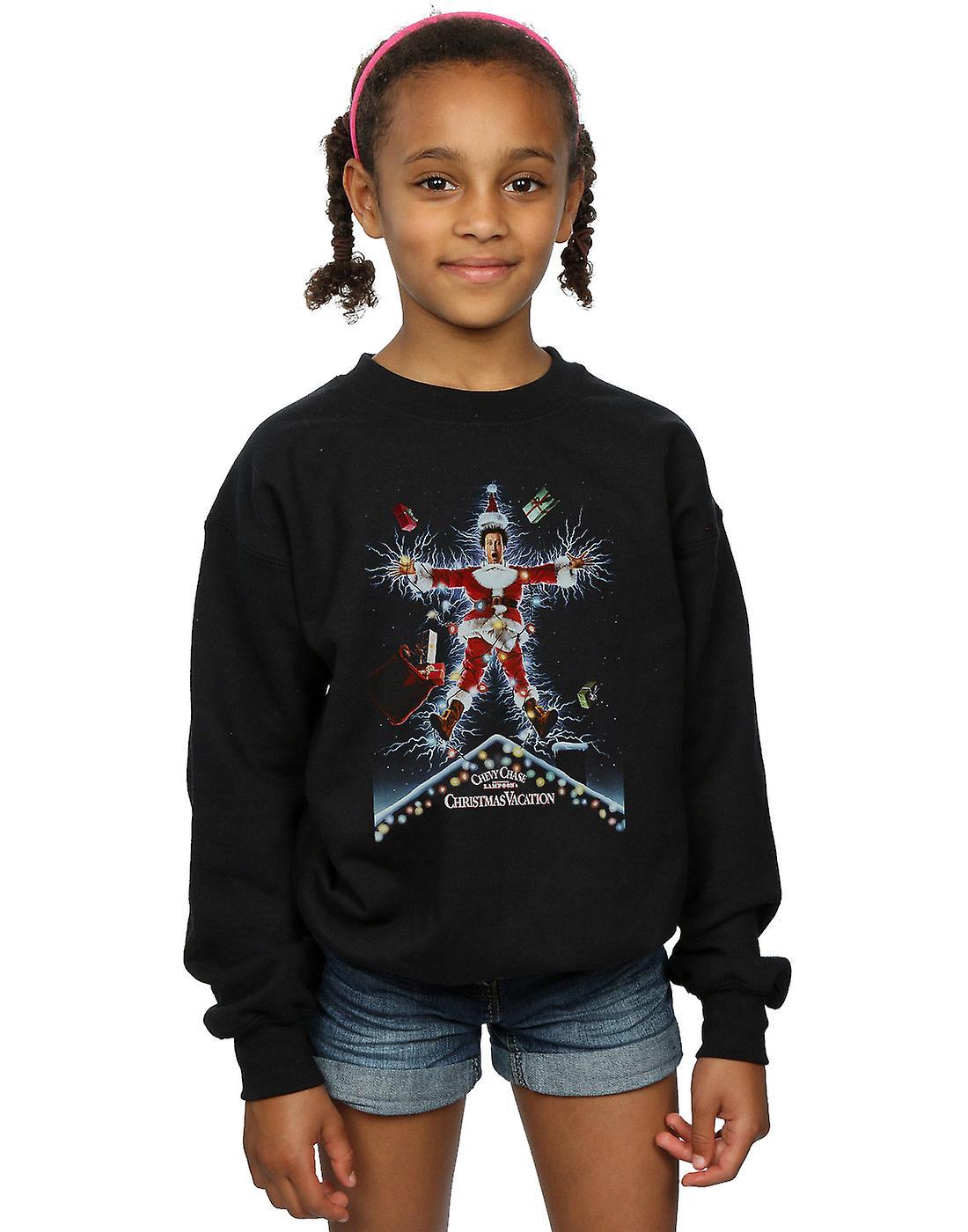 National Lampoon's Christmas Vacation Girls Poster Sweatshirt
