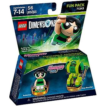 LEGO 71343 Het Powerpuff Girls Fun Pack