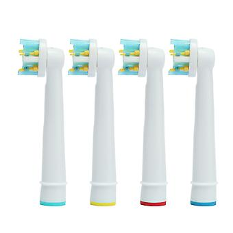 Floss action tannbørste Heads-Oral B-kompatibel 4X EB-25A