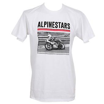 ' S μπλουζάκι ~ ηχογραφημένο λευκό