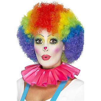 Accessoires Clown kraag roze