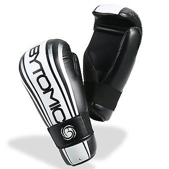 Bytomic as punt Fighter handschoenen wit/zwart