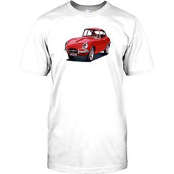 Jaguar E-Type klassisk britisk bil barna T skjorte