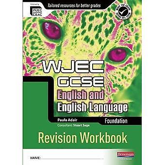 WJEC GCSE classeur de révision pour le Fondation English and English Language