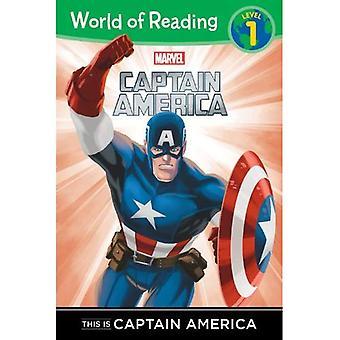 Świat to czytanie jest Kapitan Ameryka: poziom 1