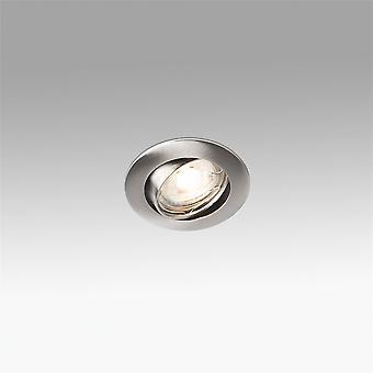 Faro - Movil Matt nikkel runde forsænket Spotlight FARO43057