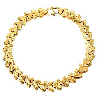 Bracelet U7 avec Hearts-gold
