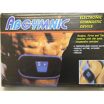 ABGYMNIC Muscle Toning Belt Inc Batteries & Gel ABS BUM TUMMY LEGS ARMS