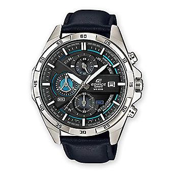 Casio men's Quartz Watch with leather band EFR-556L-1AVUEF