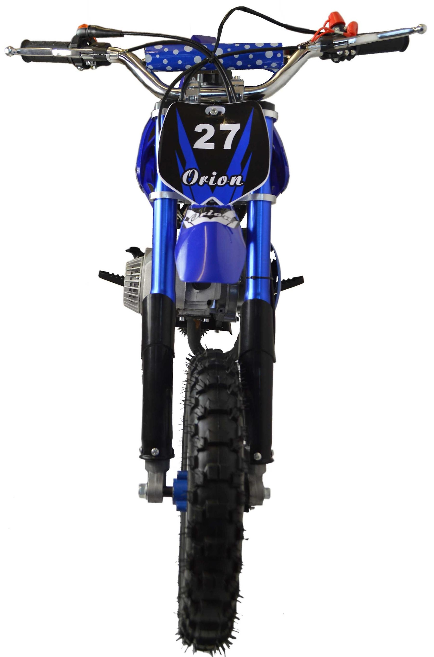 Zipper 50cc Petrol Mini Kids Dirt Motorbike - Blue