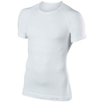 Falke enge Passform Kurzarm Shirt - White