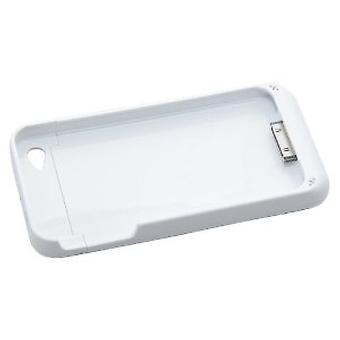 Bluedio Kickstand Backup Battery Pack for iPhone 4/4s 1500mAh - White