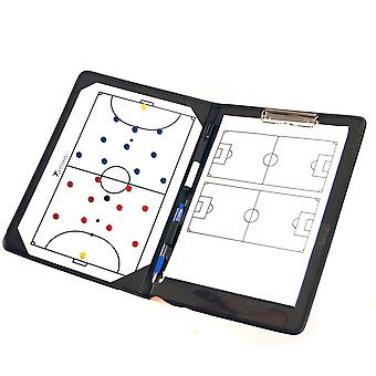 Precision Training Football Pro Futsal Coaches Tactic Folder Clipboard