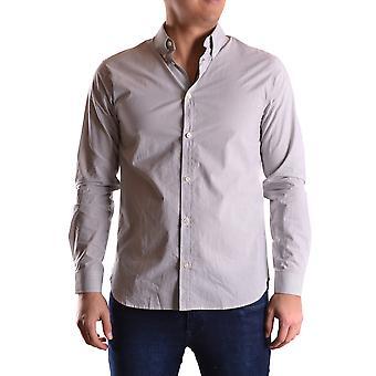 Marc Jacobs Ezbc062043 Uomo's Camicia di cotone grigio