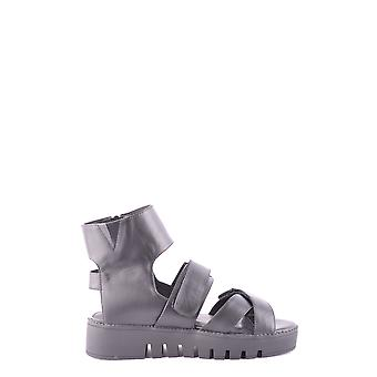 Jeffrey Campbell Ezbc132015 Women's Black Leather Sandals