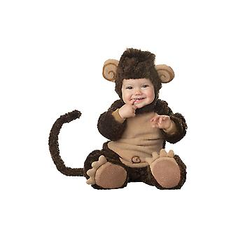 Kids Baby Lil' Monkey Animal Fancy Dress Costume