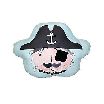 Piraten Ahoy Auge Patch Tasche Kissen
