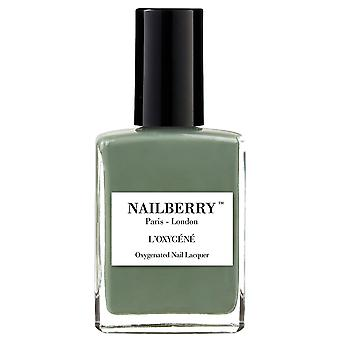 NailBerry Nail Polish Oxygenated Green Therapy Nail Lacquer Collection - Love You Very Matcha 15ml
