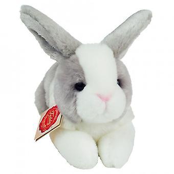 Hermann Teddy Plüsch Spielzeug Kaninchen sitzen weiß Grau