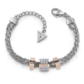 Guess vrouw roestvrijstaal Circonite armband UBB78060-S
