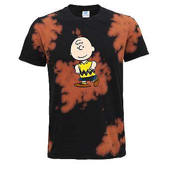 Peanuts Charlie Brown Women's Bleach Out T-Shirt
