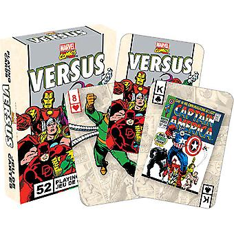 Playing Card - Marvel - Versus Retro Poker Card Game New Licensed 52325