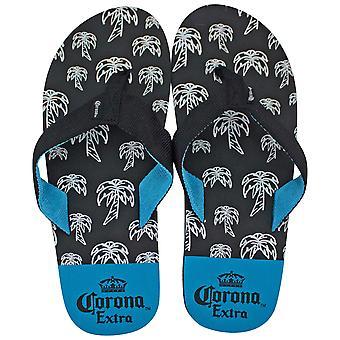 Корона очень черный и синий сандалии