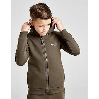 New McKenzie Boys' Essential Zip Through Hoodie Khaki