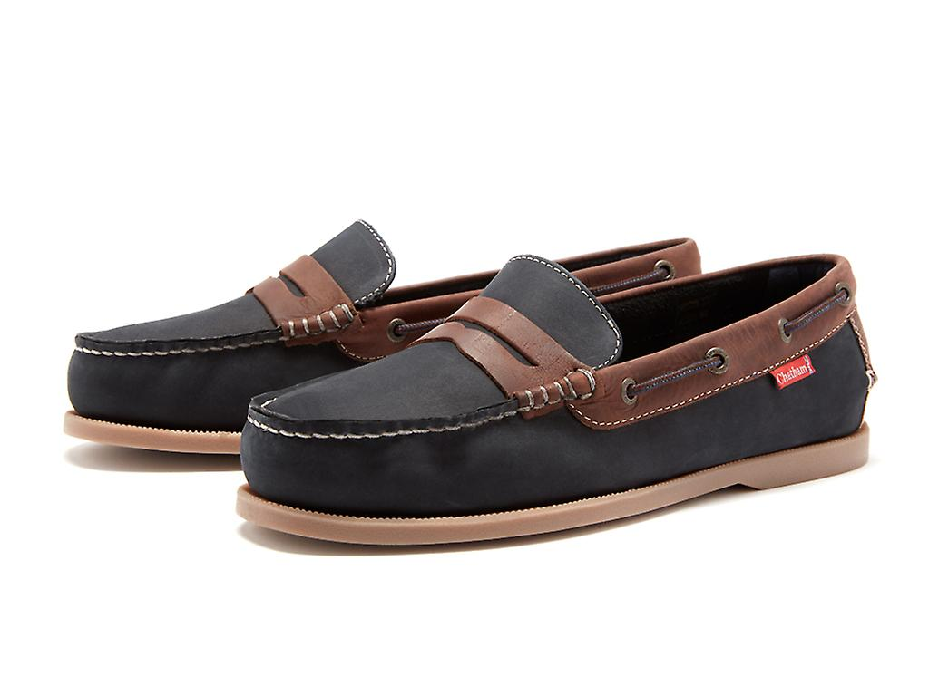 Chatham Men's Cuba Slip-On Boat Shoes