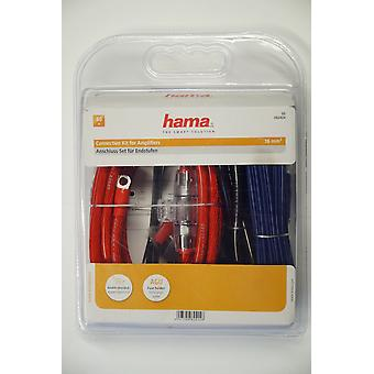 Set di cavi Hama, Scansione automatica dell'amplificatore di alimentazione, AMP KIT16 mm2, Nuove merci